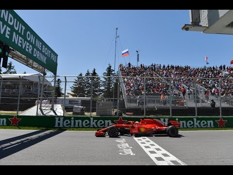 Sebastian Vettel's Record Pole in Montreal (360 Video) | 2018 Canadian Grand Prix