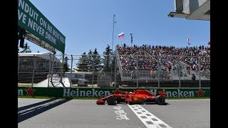 Sebastian Vettel's Record Pole in Montreal (360 Video) | 2018 Canadian Grand Prix