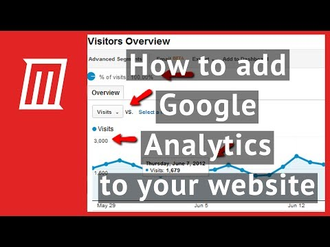 How to install google analytics tracking code into your website