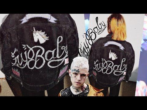 92438856e LIL PEEP Crybaby Jacket 💛 - YouTube