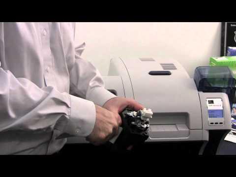 Zebra ZXP Series 8 Card Printer Cleaning