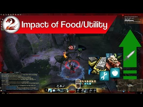 Guild Wars 2: Impact of Utilities & Food – Improve Stats in Guild Wars 2 | Best Stat to Boost