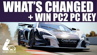 PROJECT CARS 2 - WHAT HAS CHANGED ? + WIN PROJECT CARS 2 KEY