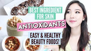 How To Get Clear Skin Naturally with Antioxidants #DayInMySkin + Beauty food recipes