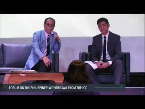 Panelo grilled on withdrawal from International Criminal Court