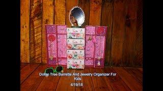 Dollar Tree Jewelry Organizer
