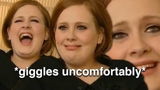 adele and the funniest interview that ever happened