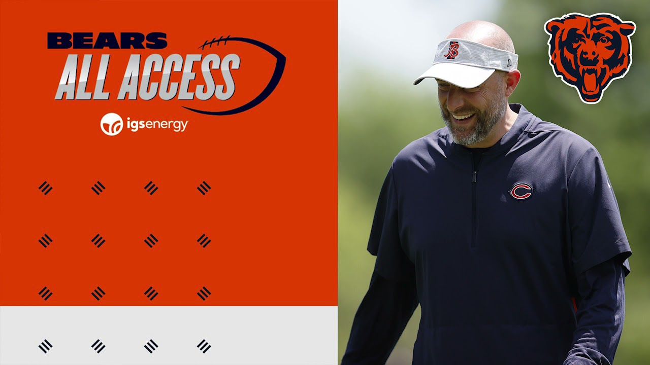 Bears wrap up veteran minicamp at Halas Hall | All Access Podcast | Chicago Bears