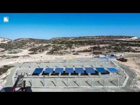 Cyprus Hill - Pentakomo solar-thermal field timelapse