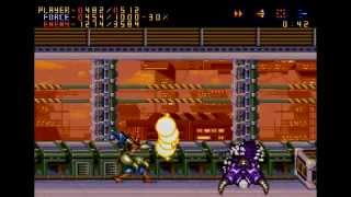 HARDEST CONSOLE GAME - Alien Soldier - (Part 1)