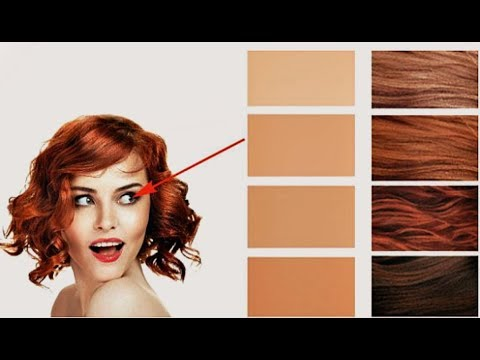 Как подобрать рыжий цвет волос к лицу