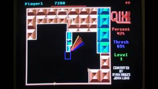 Qix Game Review (Apple IIGS)