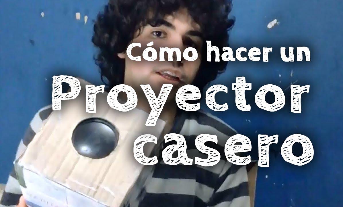 C mo hacer un proyector casero youtube for Como hacer un criadero de peces casero