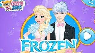 NEW Игры для детей—Disney Принцесса Эльза невеста—Мультик онлайн видео игры для девочек