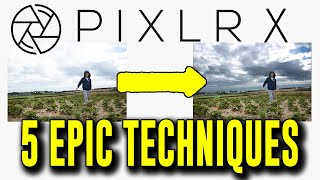 5 techniques in Pixlr X Photo Editor to replace Photoshop! For Free! screenshot 3
