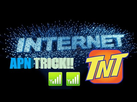 APN TRICKS TNT SIM 😎