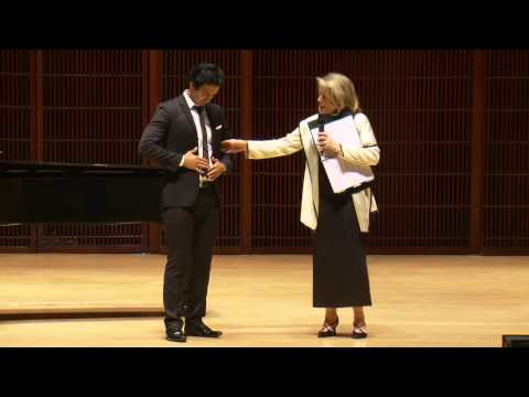 Shepherd School of Music Master Class with Renee Fleming - Rafael Moras, tenor