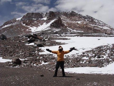 Expedición Volcán Tupungato enero 2014 Club Andino Wechupun