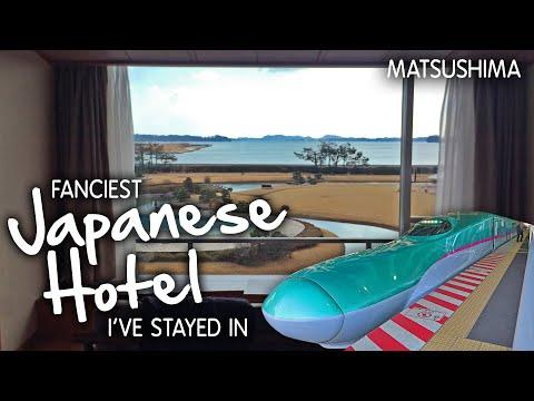 Matsushima Ichinobo Hotel Tour & Bullet Train / Shinkansen In Japan