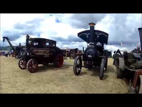 Welland Steam Rally 2016  - Part2, more tractor pulling, tractors, bikes, cars, lorries and steam