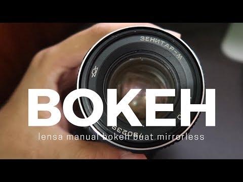 LENSA BOKEH DIBAWAH 1 JUTA BUAT MIRRORLESS #VIP (eps 68)