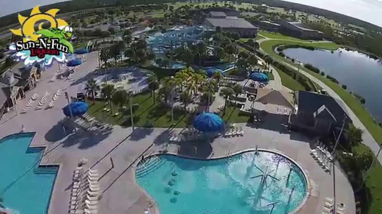 Sun N Fun Lagoon Naples Waterpark Fly Over 1 30 Youtube
