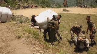 Nepal Earthquake: Urgent Search For 6 Marines on Military Helicopter