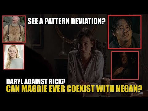 The Walking Dead Season 8 & Season 9 Maggie & Daryl Discussion - Can Maggie Coexist With Negan?