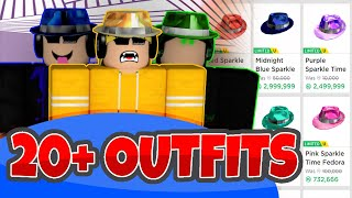20+ RICH BOY UND GIRL SPARKLE TIME OUTFITS || ROBLOX