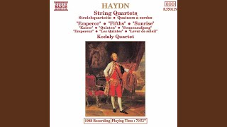 "String Quartet No. 62 in C Major, Op. 76 No. 3, Hob. III:77 ""Emperor"": IV. Finale: Presto"