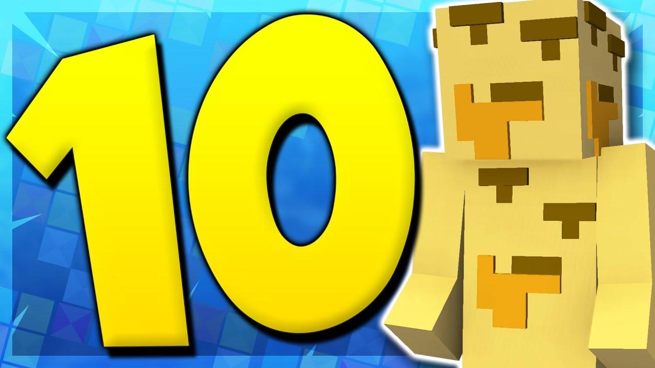10 Funny Minecraft Skins!