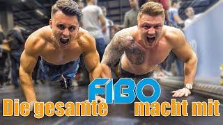 10.000 LIEGESTÜTZ-CHALLENGE auf der FIBO 2019 I SPENDENAKTION 17.0 mit Michael Smolik und Co.