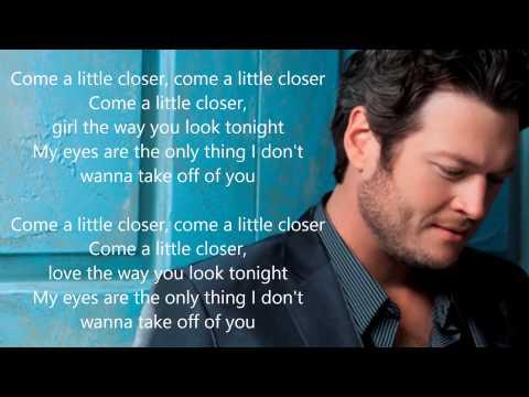 Blake Shelton - My Eyes (Lyrics)