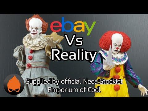 eBay Vs Reality NECA Pennywise 2017 Vs 1990 Review