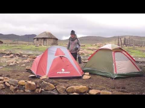 旅する鈴木457:Border of Lesotho and South Africa @Lesotho