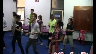 สาธิตวิธีการเต้นบาสโล๊ป ชุดที่ 2