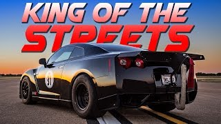 AMS GT-R Takes Down THREE 2,000hp Lambo