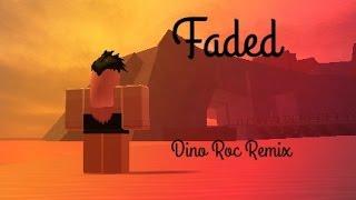 Alan Walker - Faded (Dino Roc Remix) ❤️ Short Roblox Music Video ❤️