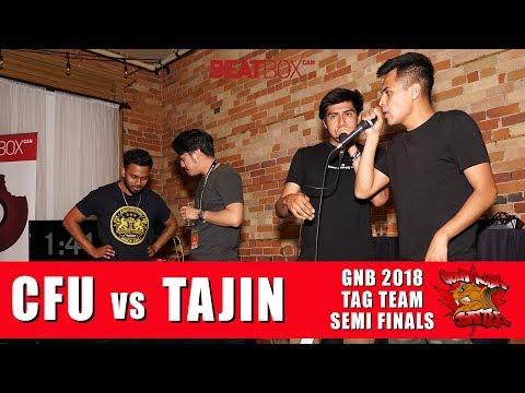 CFU vs Tajin | GNB 2018 | Tag Team - Semi Finals