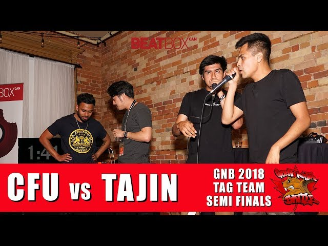 CFU vs Tajin | GNB 2018 | Tag Team - Semi Finals