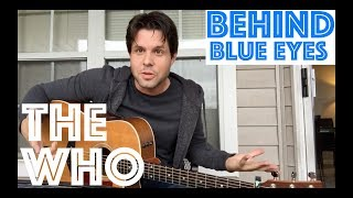 Guitar Lesson: How To Pay Behind Blue Eyes By The Who