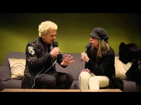 Interview: Billy Idol Live at the Turf Club with Mary Lucia