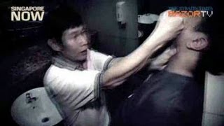 Repeat youtube video Man saved wife from JB robber (Kungfu-hubby vs JB robber Pt 1)