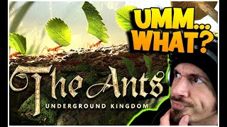 This game, I was not expecting... (The Ants: Underground Kingdom) screenshot 2