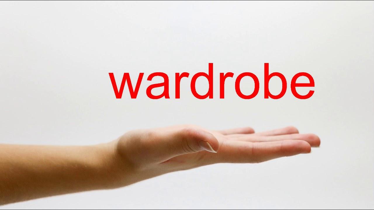How to Pronounce wardrobe - American English - YouTube
