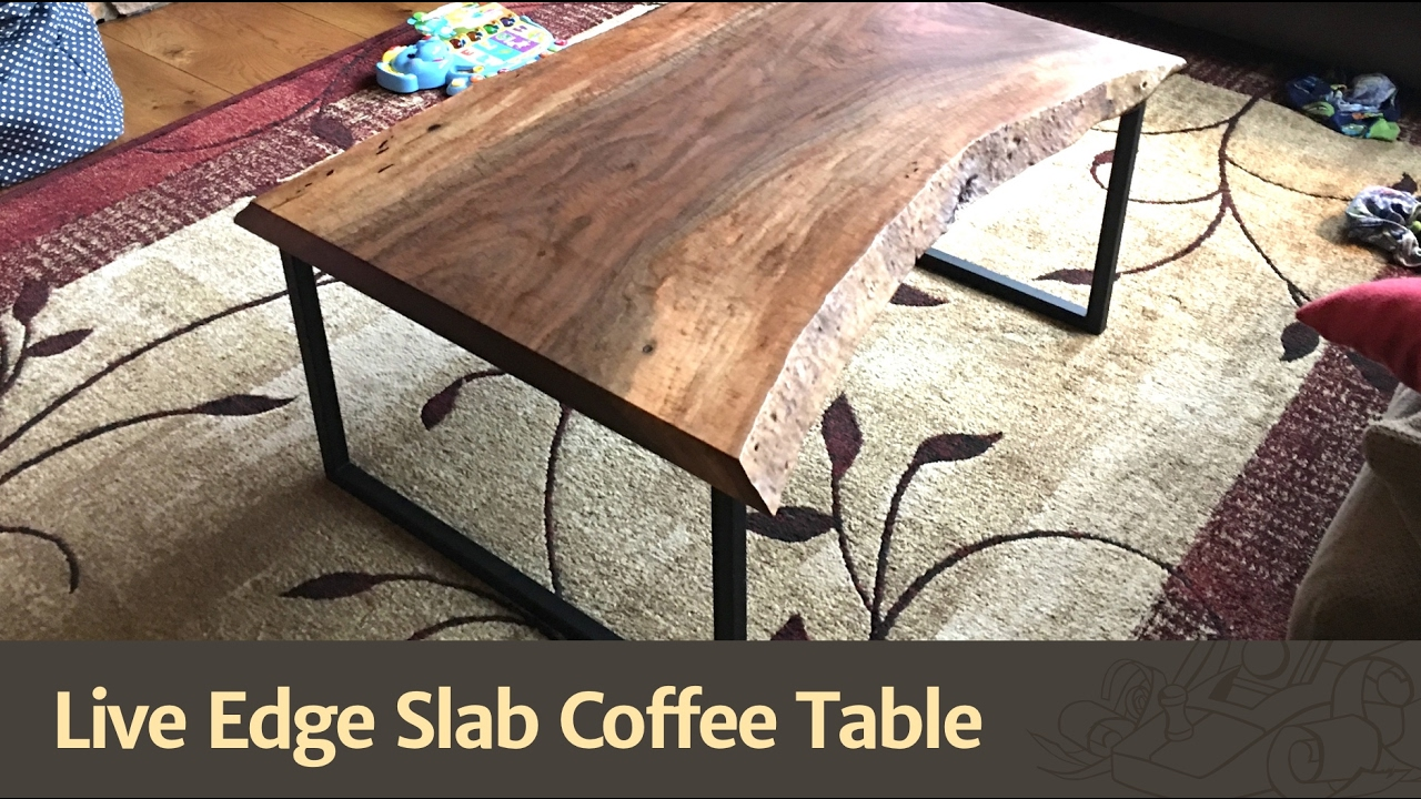 how to build a live edge table