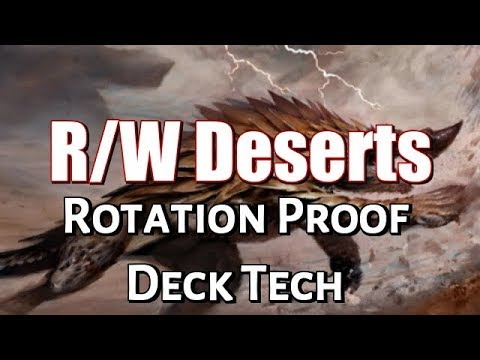 Mtg Deck Tech: R/W Deserts (Standard, Rotation Proof)
