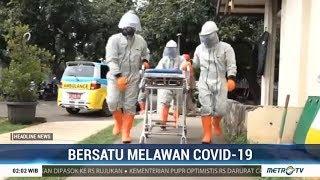 Relawan Jakarta Rescue Gelar Simulasi Penanganan Pasien Covid-19