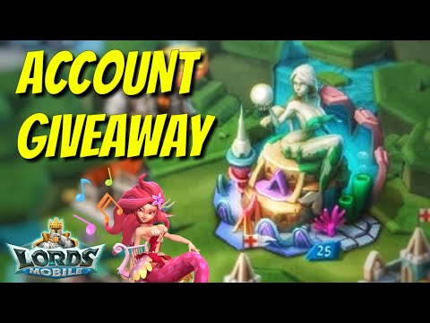 *CLOSED* AMAZING Account Giveaway! - Lords Mobile
