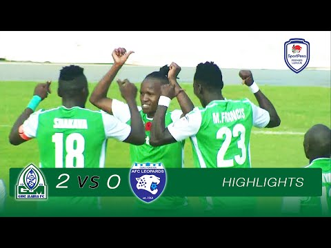 Gor Mahia 2-0 AFC Leopards | EXTENDED HIGHLIGHTS | Sat, 09.02.2019 | SPL 2018-19 Round 13